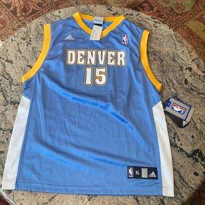 NBA CARMEL ANTHONY NWT DENVER NUGGETS JERSEY